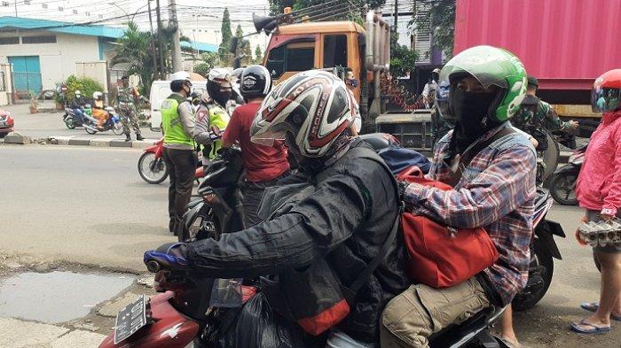Ini Kisah Agung Korban PHK, Impian Mudik Agar Hidup Lebih Tenang Kandas di Check Point Kota Bekasi