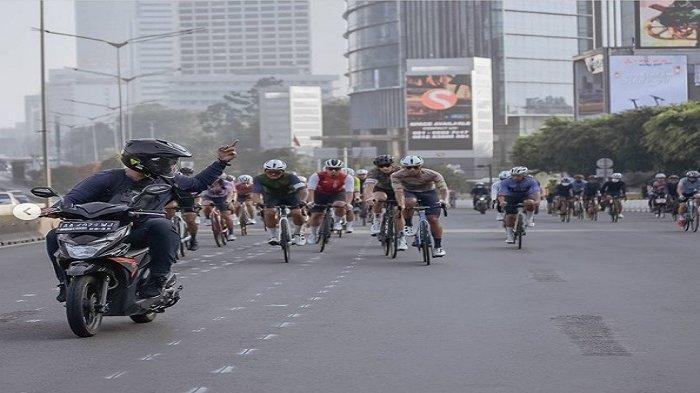 Tolak Kebijakan Anies Jalur Khusus Road Bike Sudirman-Thamrin, Komunitas B2W: Kembalikan ke Ranahnya