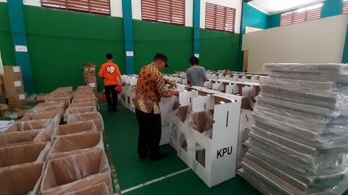 Persiapan Sudah 97 Persen, Logistik Akan Didistribusikan ke Kecamatan 2 Hari Jelang Pemungutan Suara