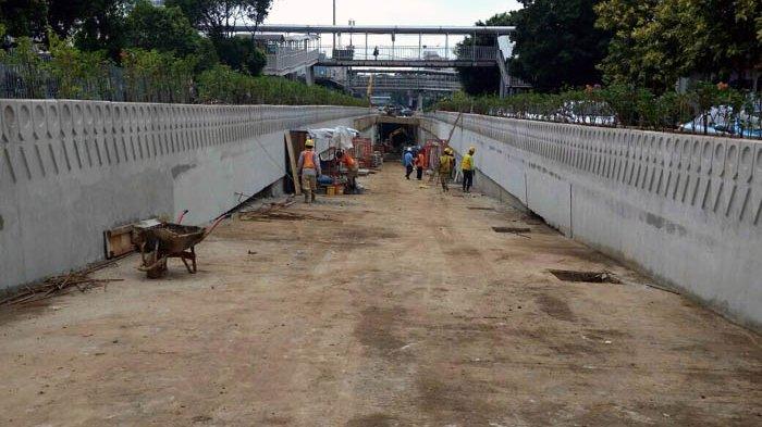 Underpass Matraman Ditargetkan Rampung April