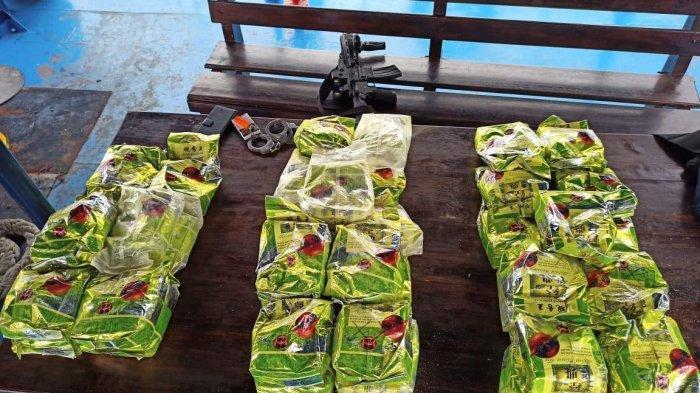 BNN Sita 42,4 Kilogram Sabu dari Kapal Kayu di Selat Malaka, Tiga Tersangka Berhasil Dibekuk