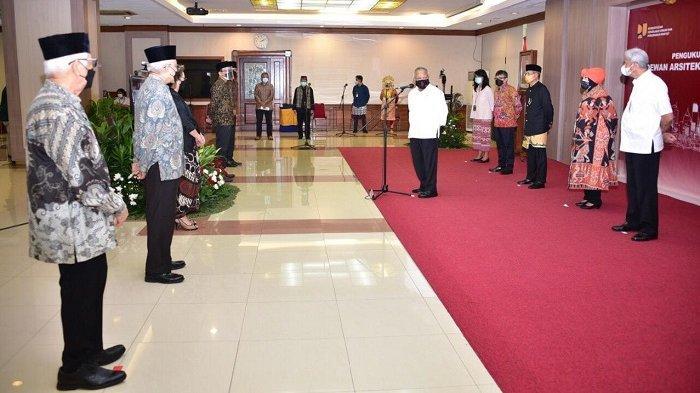 Dikukuhkan Menteri Basuki, DAI Siap Berikan Perlindungan ke Arsitek dan Pengguna Jasa Arsitek
