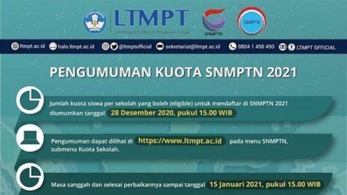 Senin 22 Maret Pengumuman SNMPTN 2021, Ini yang Harus Dilakukan Setelah Dinyatakan Lolos