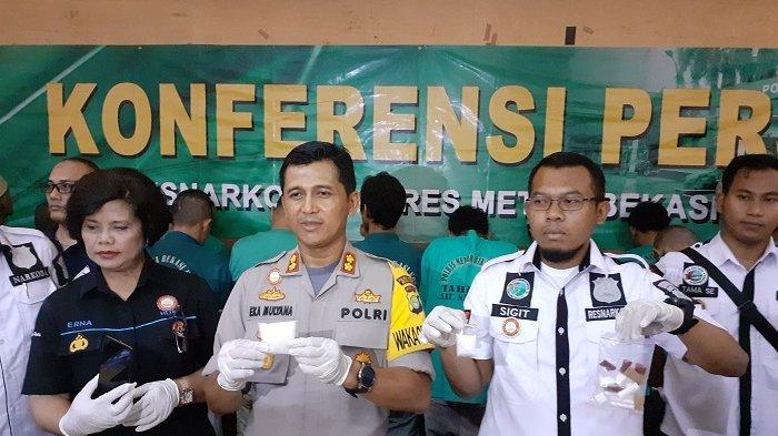 Operasi Nila Jaya 2019 di Kota Bekasi, Banyak yang Tergiur Bisnis Narkoba, Jumlah Pengedar Meningkat