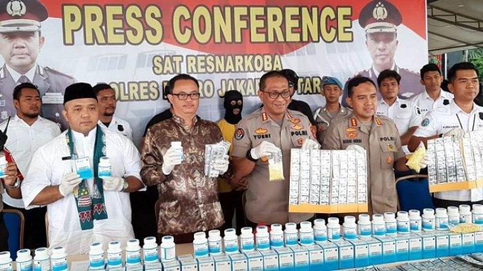Polisi Sita 2,5 Juta Butir Obat-obatan Ilegal di Koja, Ada Jenis yang Dikonsumsi Lucinta Luna