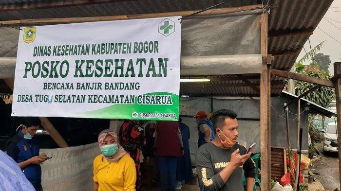 Pengungsi di Kampung Pensiunan Cisarua Kabupaten Bogor Banyak yang Menderita Diare dan Gatal-gatal