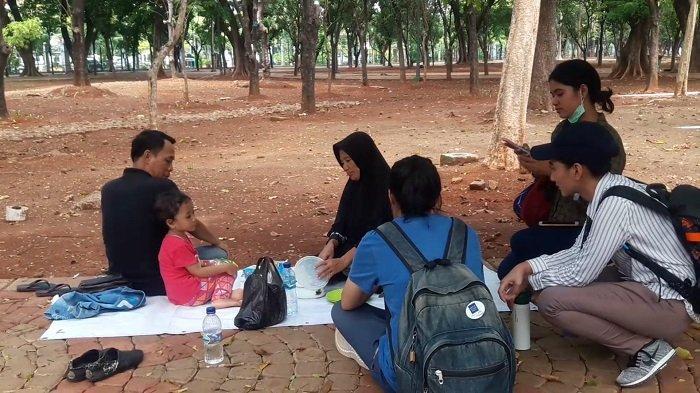 Pasca Ledakan Granat Asap di Monas, Pengunjung: Nggak Takut, Ini Ring 1