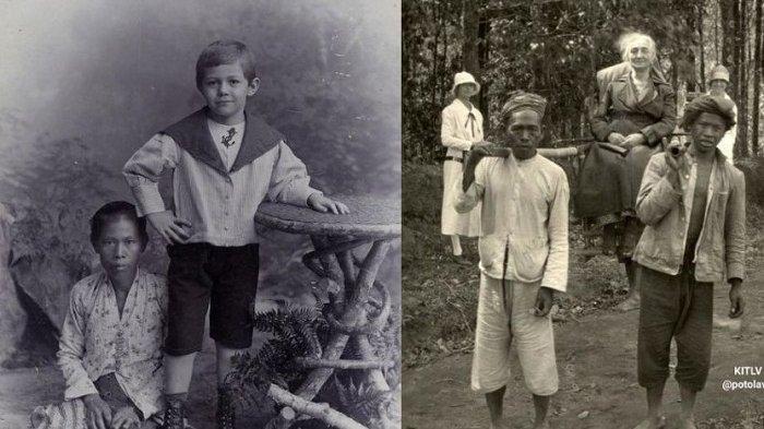 7 Foto Lawas Orang Indonesia Saat Jadi Budak di Masa Penjajahan Bikin Miris