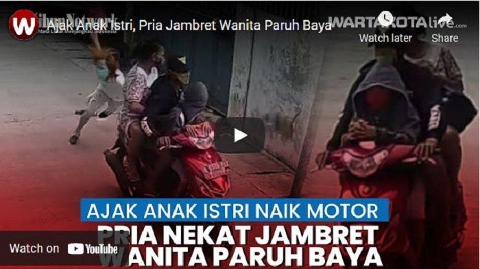Jambret Warga Sambil Bonceng Anak di Tamansari Viral, Polisi Olah TKP, Periksa CCTV dan Buru Pelaku