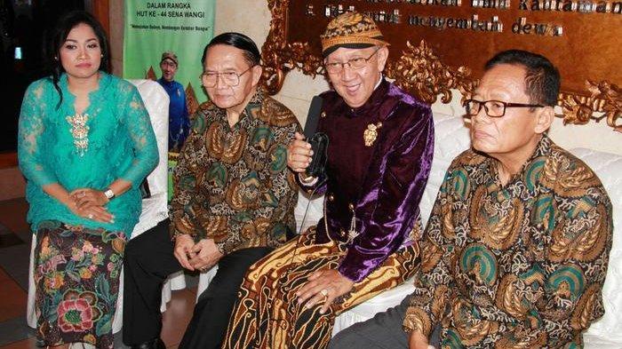 Ki Manteb Sudarsono di Gedung Pewayangan Teater Kautaman, Taman Mini Indonesia Indah (TMII), Cipayung, Jakarta Timur, Jumat (16/08/2019).