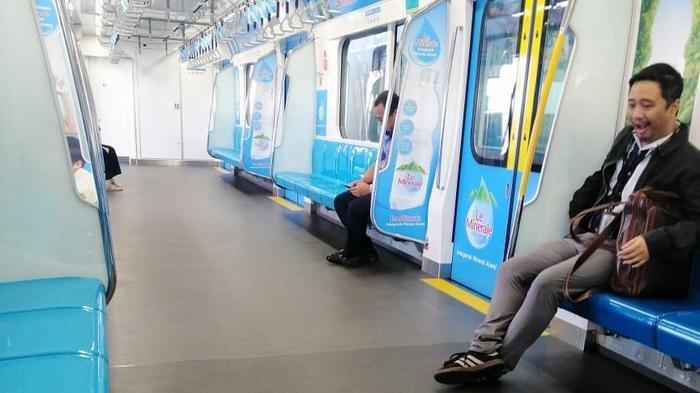 UPDATE Penumpang dari Stasiun MRT Lebak Bulus Sepi