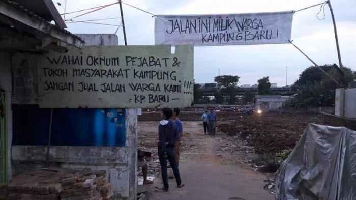 Akses Jalan Ditutup, Warga Kayu Putih Desak Gubernur Anies Baswedan Cabut SK Nomor 1323