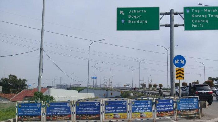 Gerbang Tol Karang Tengah Barat Ditutup, Jasa Marga: Oleh Kepolisian, Sekarang Sudah Dibuka Kembali