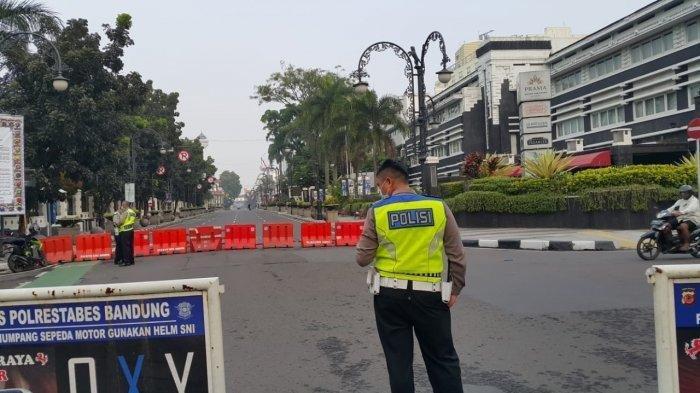 Kota Bandung Siaga I Covid, Mulai Hari Ini Ada 3 Ring Jalan yang Ditutup, Juga PPKM Mikro