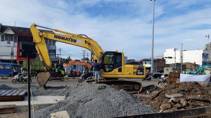 Ada Proyek Perbaikan Jalan dan Saluran, Jalan Pahlawan Bulak Kapal Ditutup sampai 5 Februari 2021