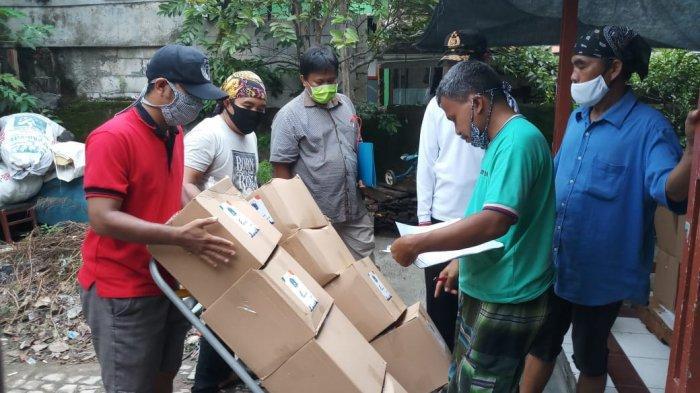 VIDEO: Bantuan Sembako dari Pemprov DKI untuk Warga Pademangan Mulai Disalurkan