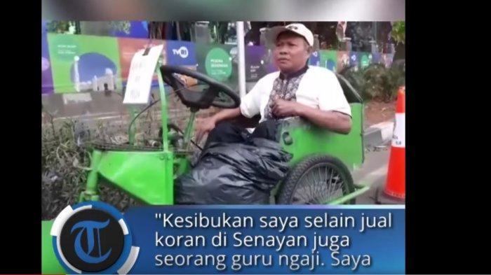 VIDEO: Kisah Guru Ngaji Bernama Suraji Penyandang Disabilitas yang Miliki Ratusan Murid
