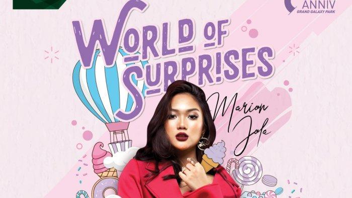 Marion Jola Tampil Memeriahkan Anniversary ke 6 Mal Grand Galaxy Park Bekasi pada Malam Minggu Ini