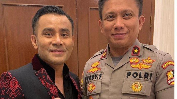 DICARI Polisi Jawa Timur, Penyanyi Judika Pasang Foto Berdua Jenderal Polisi di PTIK Jakarta
