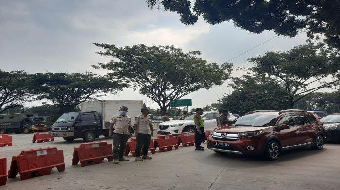 Penyekatan Mudik di Tol Sirkuit Sentul Bogor, 119 Kendaraan Terjaring, 25 Disuruh Putar Balik
