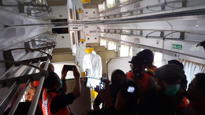 PT KAI Larang Calon Penumpang Lanjutkan Perjalanan yang Suhunya di Atas 38 Derajat