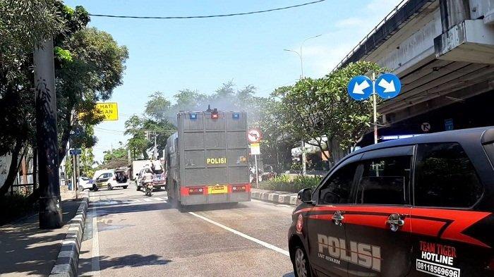 Serentak, 1.100 Personel Gabungan Semprot 6 Kecamatan di Jakarta Utara dengan Cairan Disinfektan