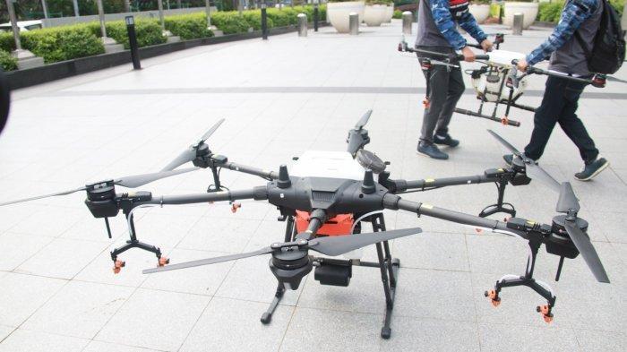 Polri Diminta Gunakan Drone untuk Pantau Kriminalitas dari Udara