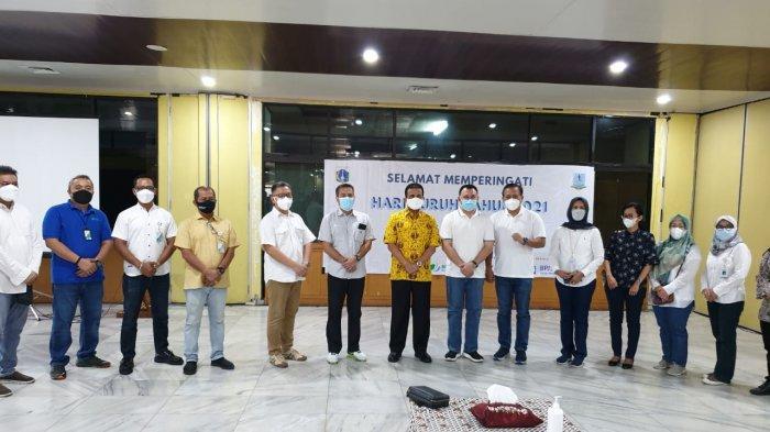 May Day Era Pandemi, BPJAMSOSTEK Berikan 18 Ribu Sembako Kepada Pekerja