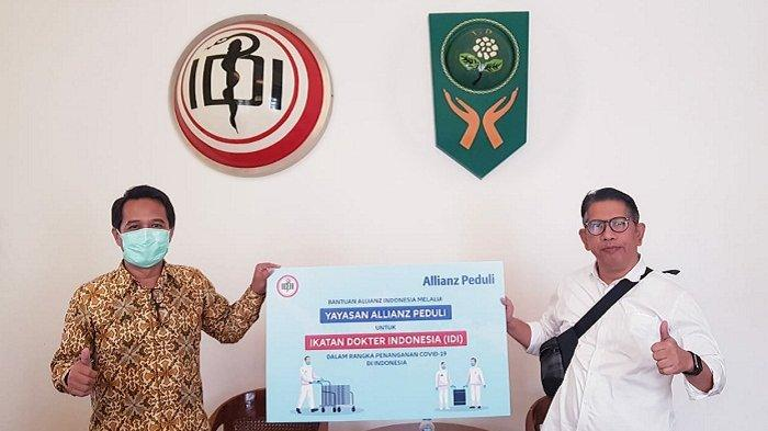 Bantu Tenaga Medis Indonesia TanganiCovid-19, Allianz Indonesia Donasi Multivitamin dan APD