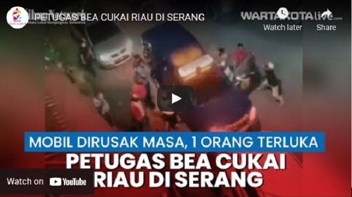 VIDEO Petugas Bea Cukai Dikeroyok Orang Tak Dikenal Saat Membongkar Sindikat Barang Ilegal