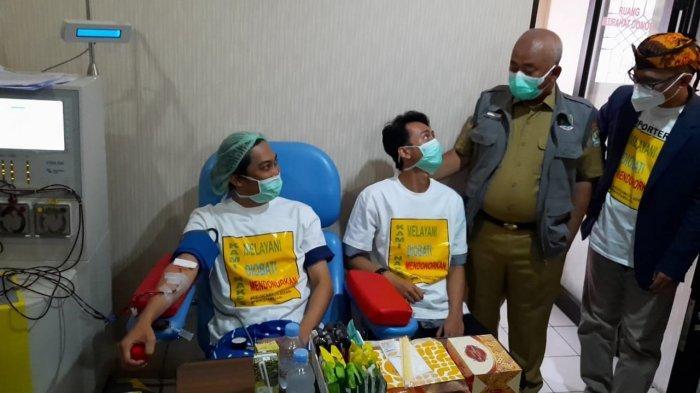 Penyintas Covid-19 Pegawai RSUD Kota Bekasi Donorkan Plasma Konvalesen