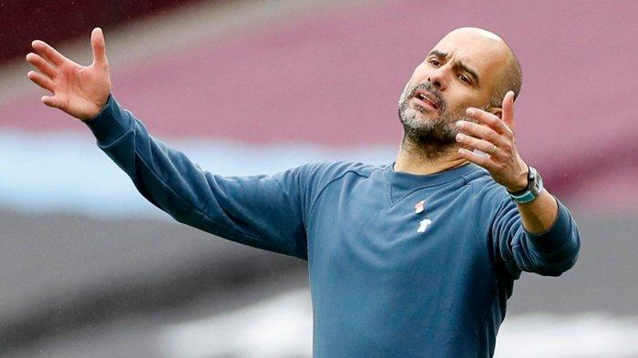 Pelatih Manchester City kecewa dengan penampilan pemainnya yang gagal menciptakan gol padahal peluang banyak