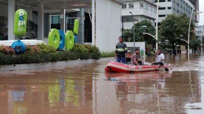UPDATE Prakiraan Cuaca Sabtu 27 Februari, BMKG: Waspada Potensi Banjir di Jakarta bagian Selatan