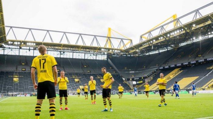 HASIL Lengkap Bundesliga, Haaland Pencetak Gol Pertama, Dortmund Tempel Muenchen di Puncak Klasemen