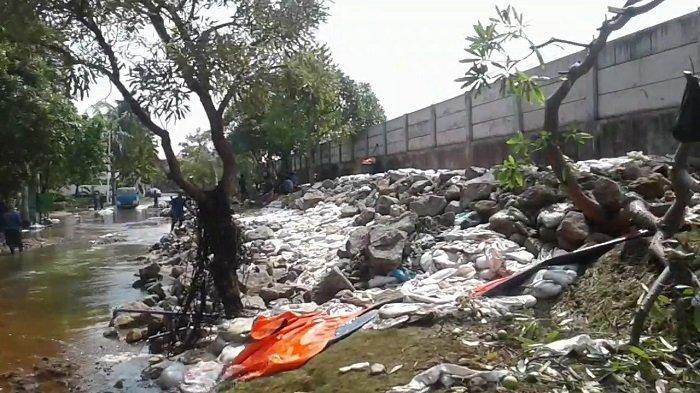 Banjir Rob di Kompleks Pantai Mutiara Berangsur Surut, Tanggul yang Rusak Rampung Diperbaiki