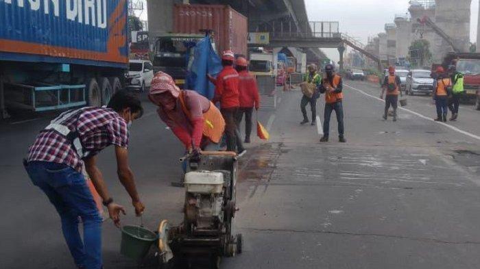 Perbaikan Jalan Tol Jakarta Cikampek, Catat Titik dan Waktunya