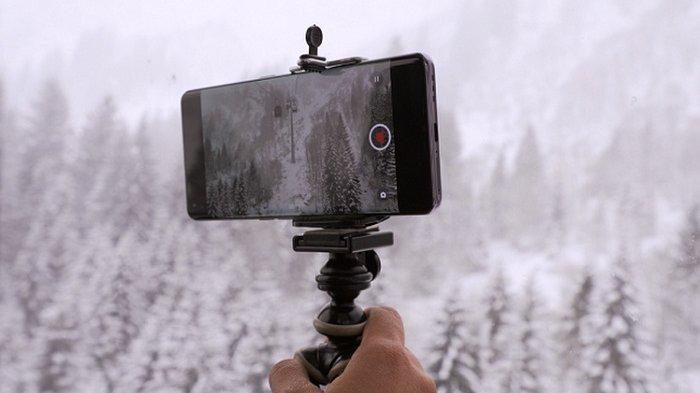 Perekaman video menggunakan Oppo Find X2 Pro