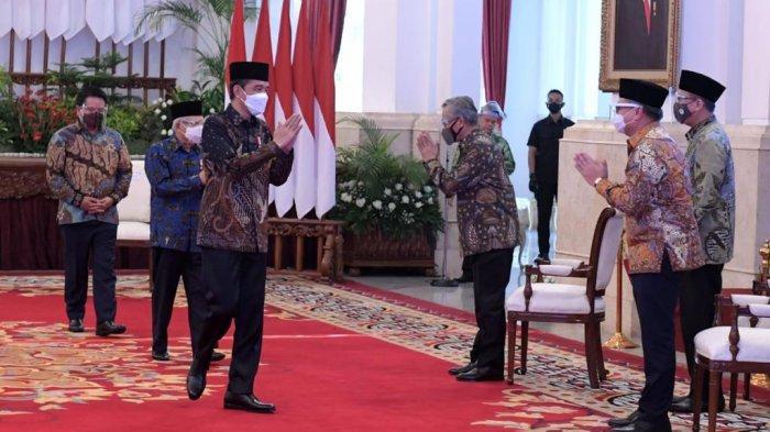 Bisikan Jokowi Kepada Erick Thohir Soal Bank Syariah Indonesia, Harus Maju Seperti Logonya