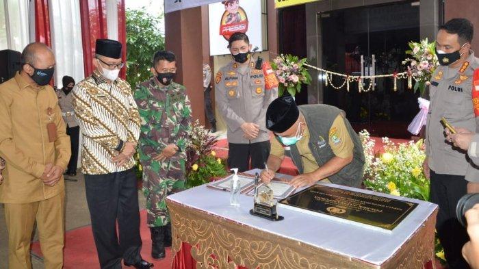 Hore, Resmi dipecah dari Polsek Pondokgede, Kecamatan Jatisampurna Kini Punya Polsek Sendiri