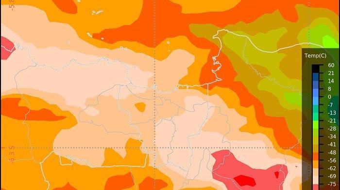 Peringatan dini Jakarta Hari Ini Selasa (2/2/2021) Pagi, Waspada Hujan Lebat di Wilayah Jabodetabek
