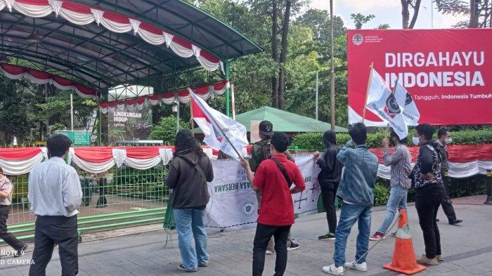 Desak Polri Usut Tuntas Kasus Pencemaran Lingkungan, Kelompok Pemuda Perisai Gelar Aksi Unjuk Rasa