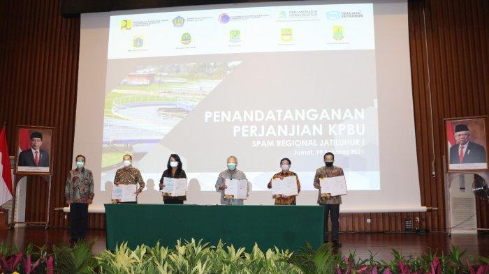 PT PII Beri Penjaminan Pemerintah pada Proyek KPBU Sistem Penyediaan Air Minum Jatiluhur I