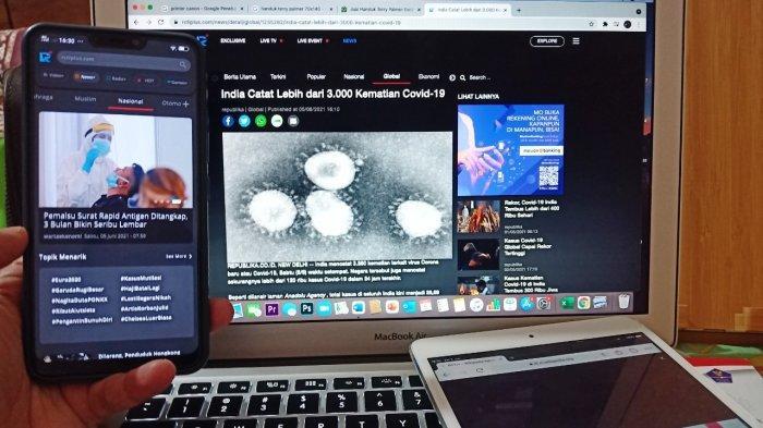 Kanal Gaya Hidup News RCTI+ Berikan Informasi Covid-19 Terkini