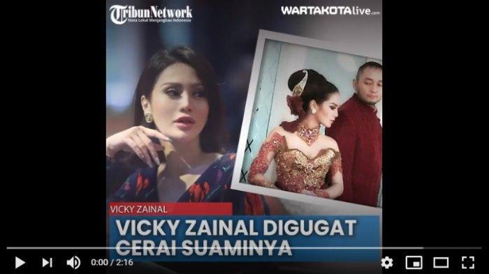 Pernikahan Vicky Zainal dan Muliawan Setyadi Poernomo berada diujung tanduk setelah 10 tahun mengarungi bahtera rumah tangga.