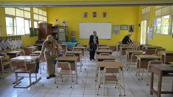 Sejumlah Sekolah Bersiap-siap Melaksanakan Pembelajaran Tatap Muka