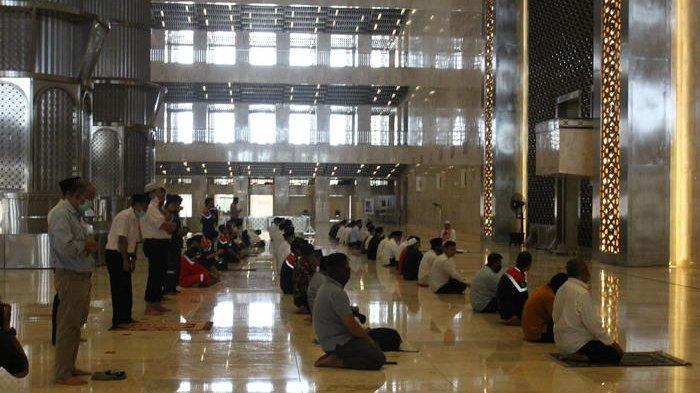 Gelar Salat Tarawih Sepanjang Bulan Suci Ramadan, Pengelola Masjid Istiqlal Batasi Jumlah Jamaah