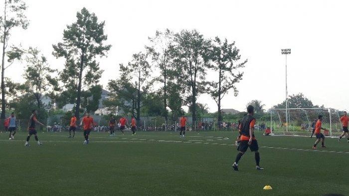 Persija Jakarta Gelar Simulasi Pertandingan, 2 Tim Saling Balas Gol