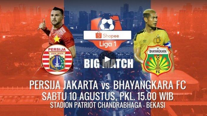 Jelang Laga Persija Jakarta vs Bhayangkara FC, Sabtu (10/8/2019), The Guardian Siap Tempur