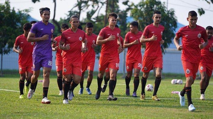Persija Jakarta Asah Pertahanan di Latihan Akhir Pekan Kedua