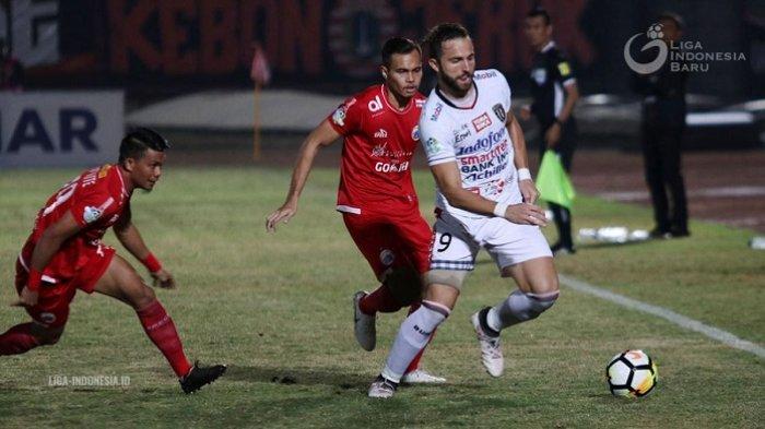 Bali United Kalahkan Persija 2-0